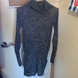 Dresses & Skirts - Grey Long Sleeve turtle neck jumper